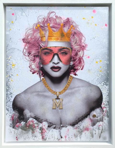 queen of pop - chrome